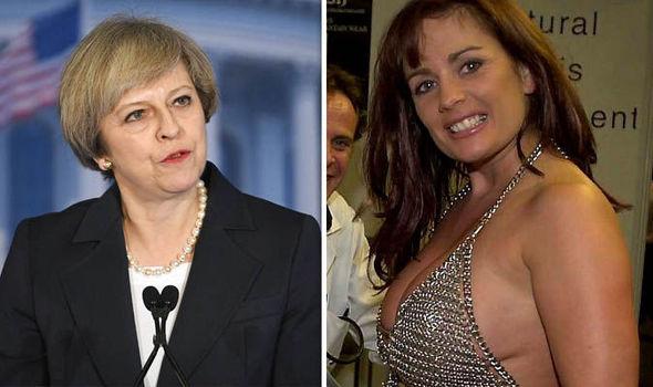 Prime Minister Theresa May - Porn star Teresa May
