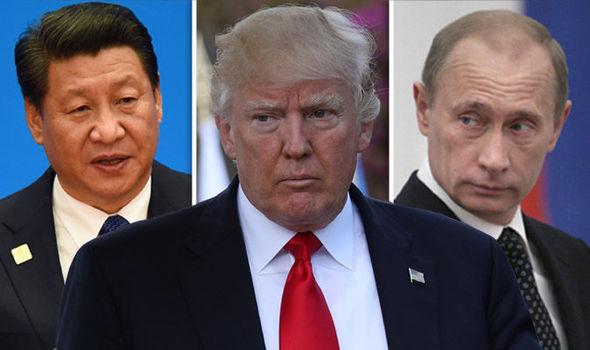 Russia and China lash out at USA as North Korea crisis deepens   World    News   Express.co.uk