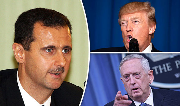 United States warns Assad to avoid future strikes