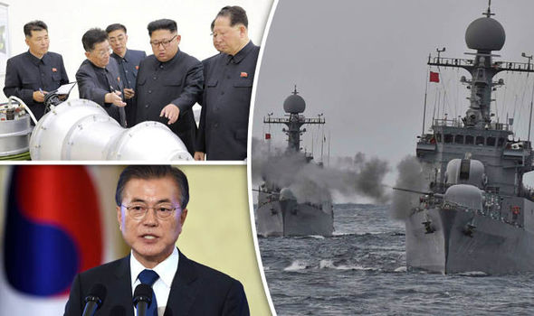 Kim Jong Un - south korea ambassador - naval ships