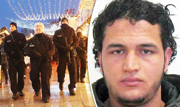 Police and Anis Amri