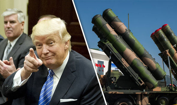 Moscow accused China of deploying missiles ready to target the United States