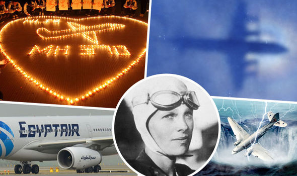 EgyptAir flight MS804: Five of world's biggest missing ...