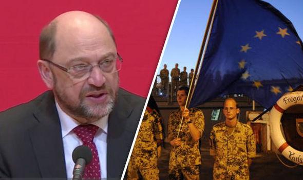 Martin Schulz on Nato spending