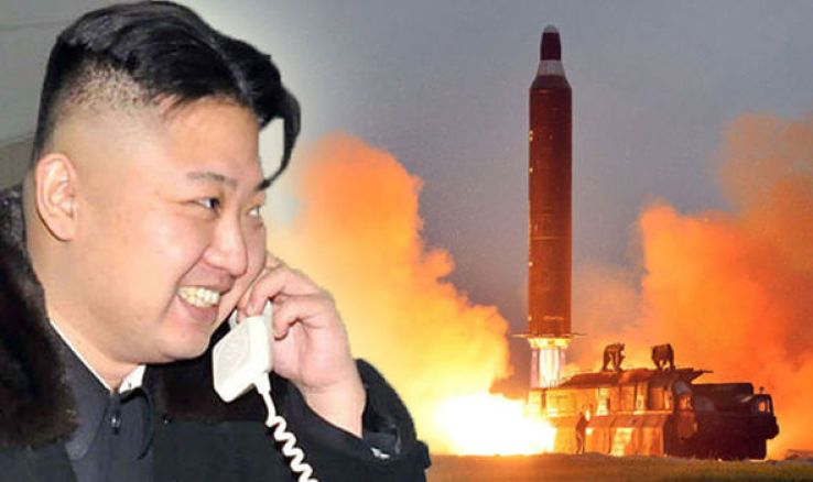 Image result for kim jong un with nukes