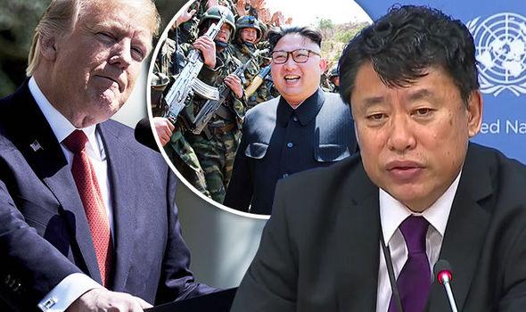 Deputy ambassador to United Nations Kim In-Ryong