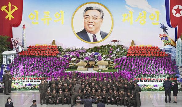 north korea missile holiday