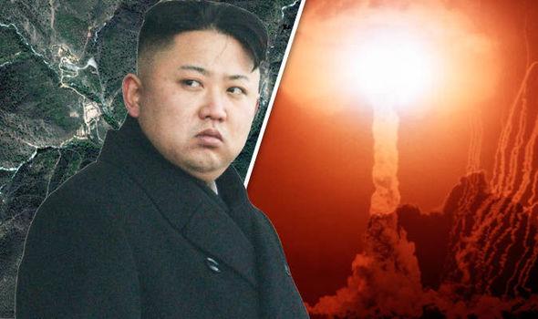 North Korea - radioactive cloud