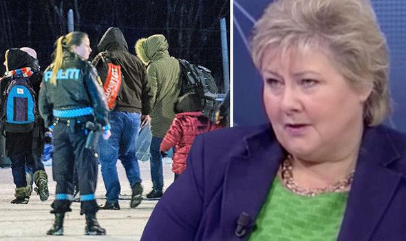 Norwegian PM on migrant crisis