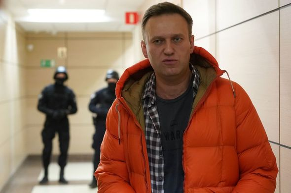 Alexei Navalny: The Russian opposition politician was sentenced to nearly three years