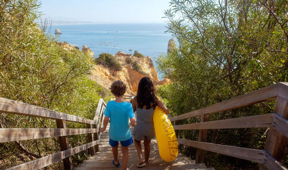 Algarve holidaymakers