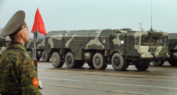 Russian Tolpol missile