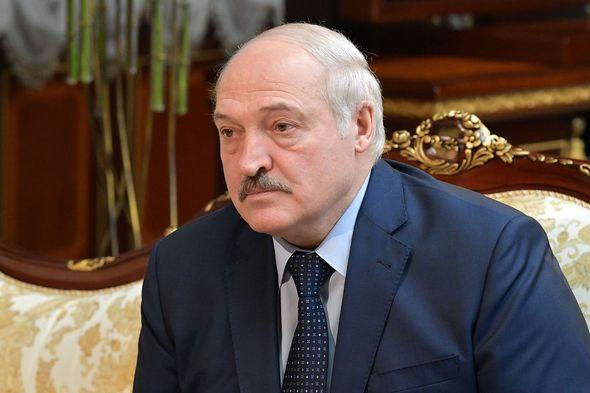 Belarus: Tory Mp warns of Putin's 'new frontline'
