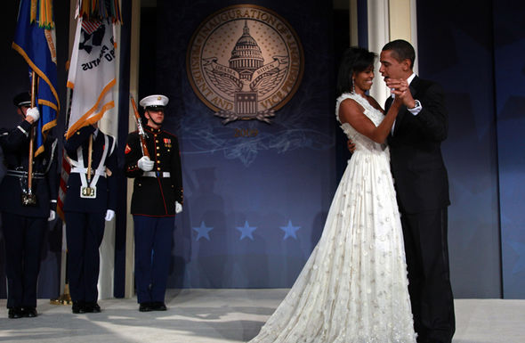 Beyonce sang for the Obama's at their inauguration