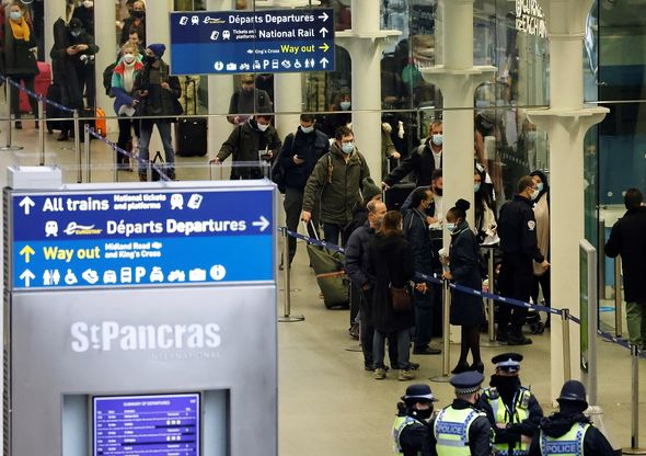 Britons banned from travelling to France on Eurostar
