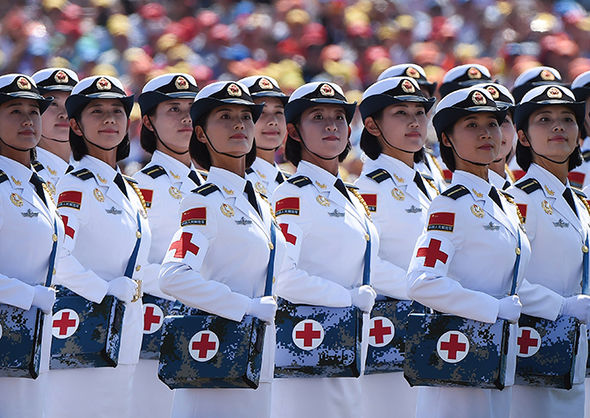 Chinese army medics