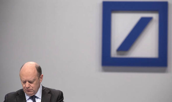 Deutsche Bank crisis Germany John Cryan
