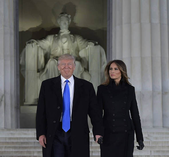 Donald Trump and Melania