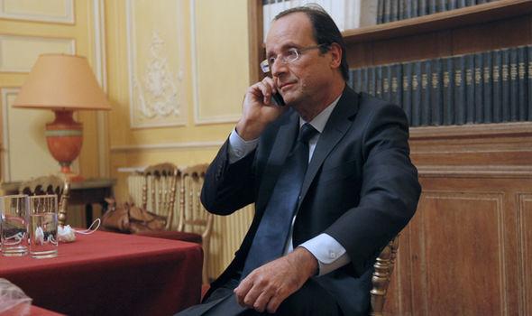Donald Trump call Francois Hollande