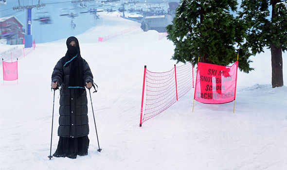 Vienna burka