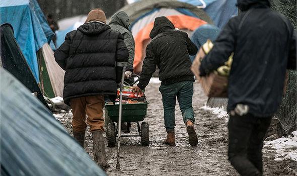 Dunkirk migrant camp