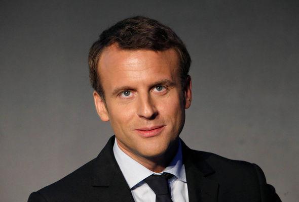 Polls put Emmanuel Macron as Ms Le Pen's main challenger