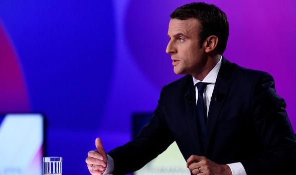 Emmanuel Macron French election Obama Merkel