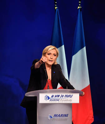 Marine Le Pen on track to deliver major victory