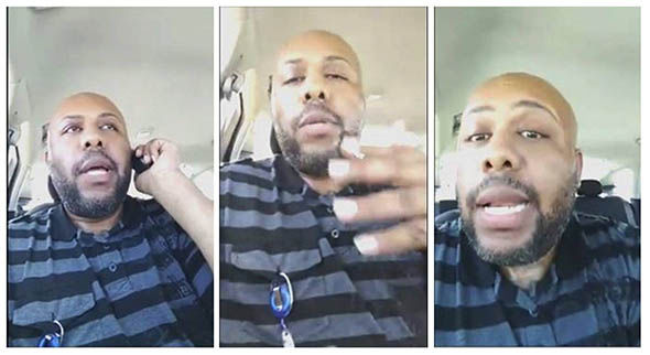 Facebook Live images from Steve Stephens feed