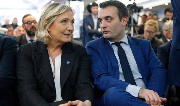 Florian Philipott, Le Pen's deputy, is an openly gay man