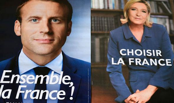 France Marine Le Pen Emmanuel Macron election