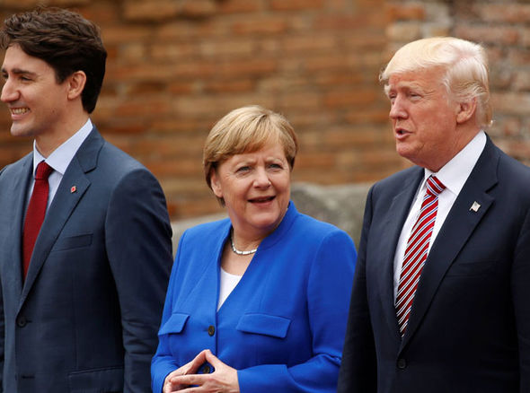 G7 Summit Angela Merkel