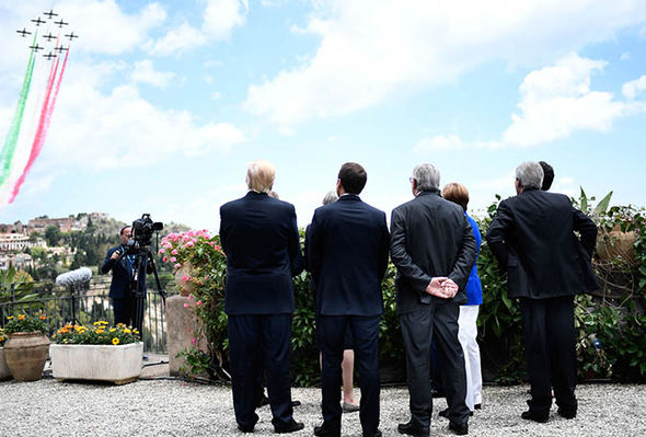 G7 world leaders at the summit