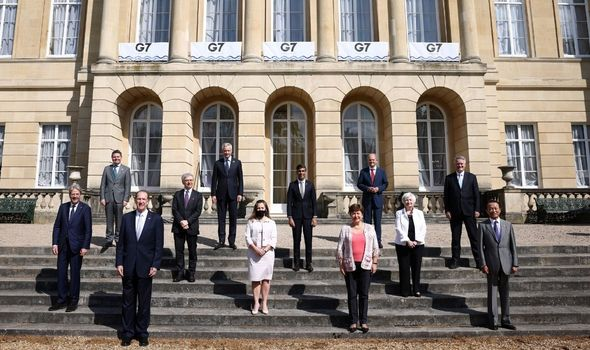 G7 summit: The finance ministers in London