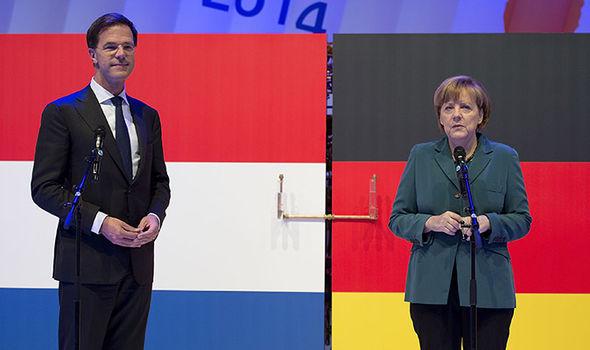 Rutte and Merkel