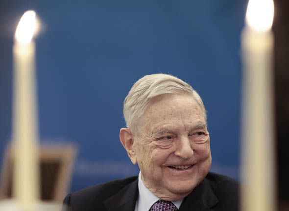 Capitalist financier George Soros