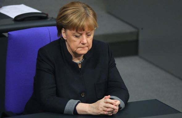 Chancellor Merkel has been coming under pressure over the migrant crisis