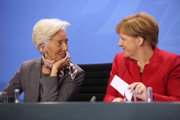 Despite her conviction Lagarde kept her job and has been having meetings with Merkel
