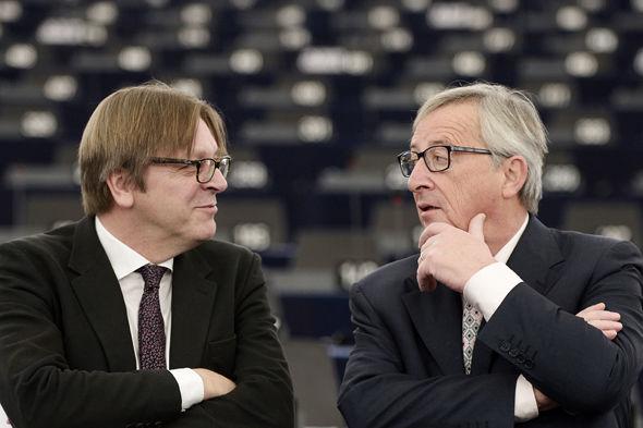 Guy Verhofstadt/Jean-Claude Juncker