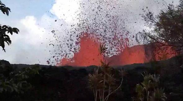 Map Hawaii S Volcanoes