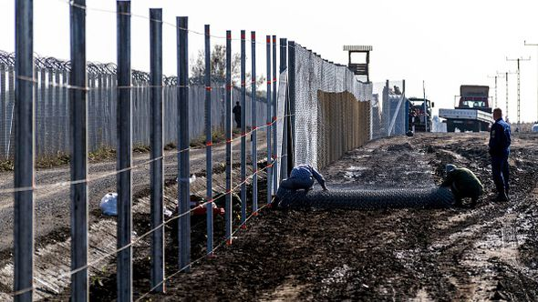 Mr Orban built a fence to keep asylum seekers out