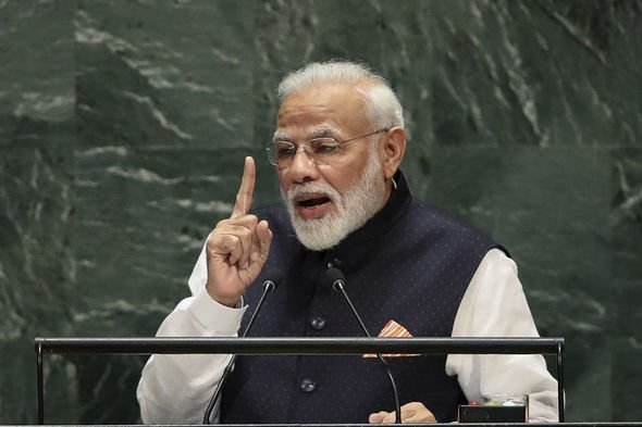 India's Prime Minister Narendra Modi