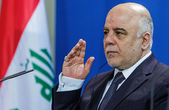Iraq's prime minister Haider al-Abadi is keen to defeat the dwindling terror group