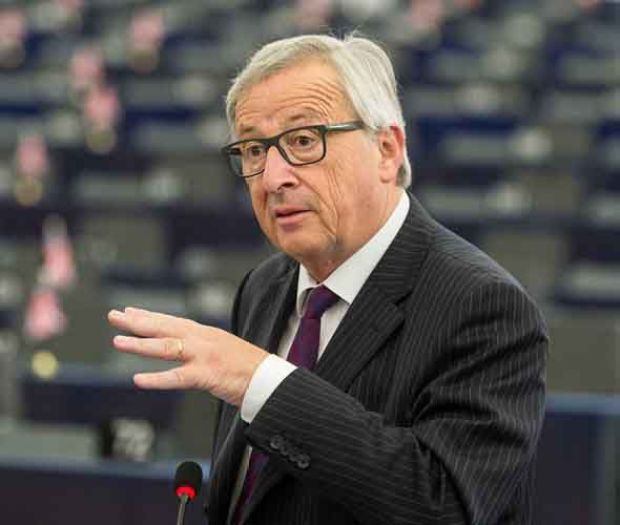Jean-Claude Juncker met with Japanese Prime Minister Shinzo Abe to work on the free trade deal