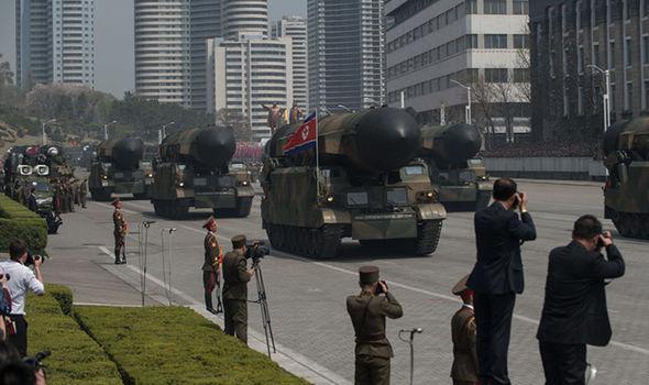 Korea parades