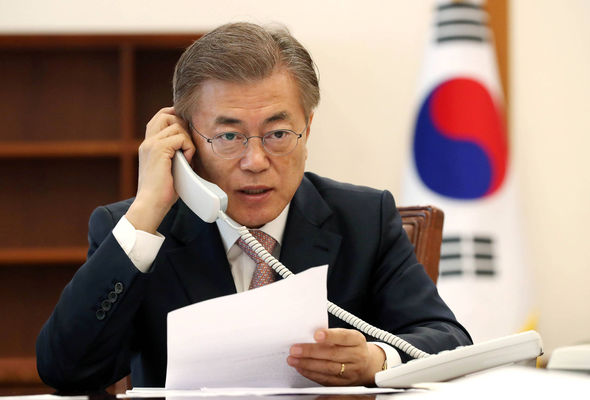 South Korea's Moon Jae-in warned North Korea to stop making provocations after speaking with China