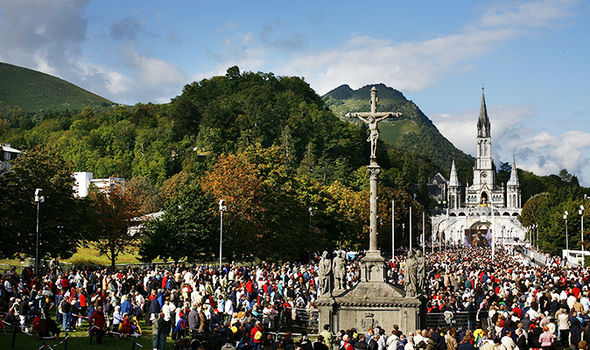 Image result for lourdes france