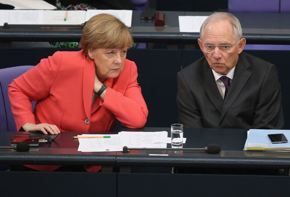 Finance minister Wolfgang Schauble will discuss boosting the Eurozone with the new French government