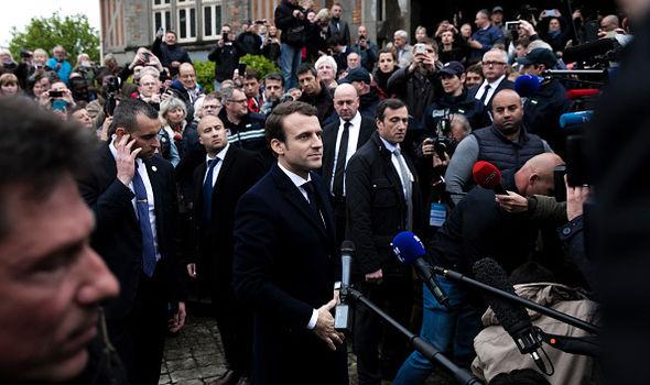 Macron French election winner