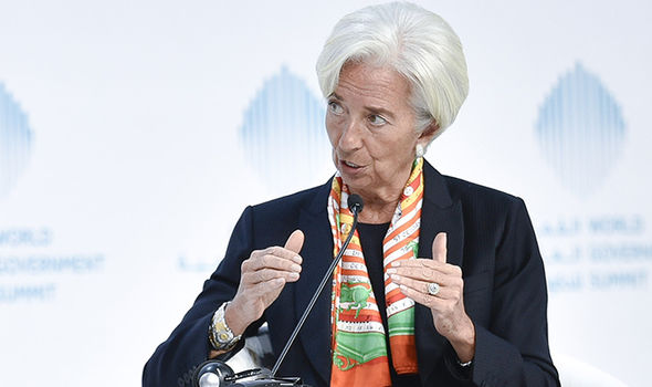 Managing director Christine Lagarde